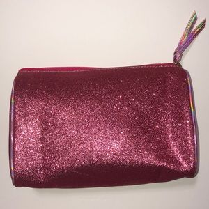 Pink Glittery makeup bag